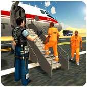 Jail Prisoner Transport Flight on 9Apps