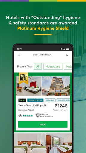 Treebo: Hotel Booking App | Book Safe Stays 6 تصوير الشاشة