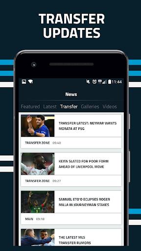 Goal.com screenshot 2