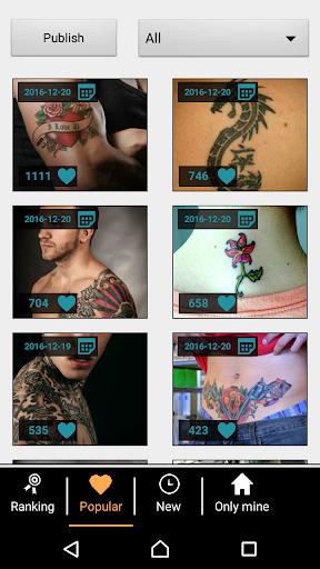 Tattoo my Photo 2.0 screenshot 2