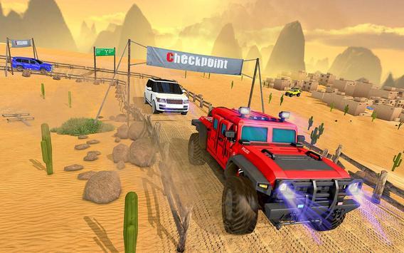 Luxury LX Prado Desert Driving screenshot 6
