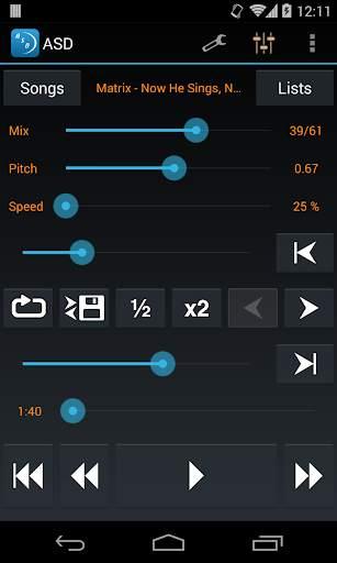 Amazing Slow Downer Lite screenshot 1