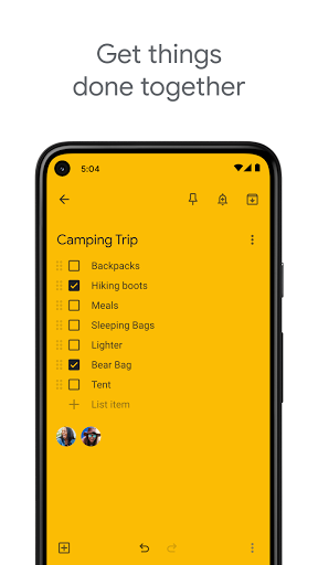 Google Keep - Notes and Lists screenshot 2
