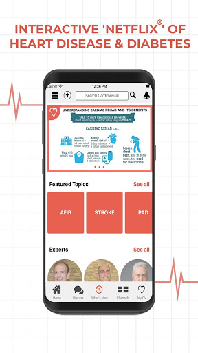CardioVisual: Heart Health Built by Cardiologists screenshot 1