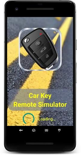 مفتاح السيارة عن بعد قفل محاكي 4 تصوير الشاشة