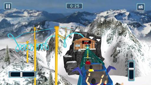 Rücksichtslose Achterbahn-Simulator-Spiele screenshot 5