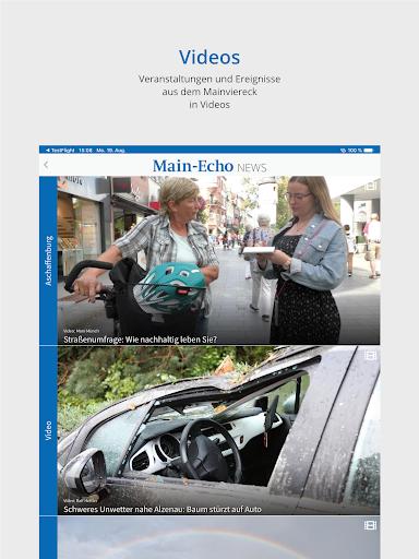Main-Echo NEWS 12 تصوير الشاشة