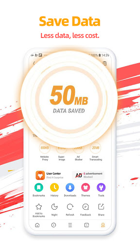 UC Browser-Secure, Free & Fast Video Downloader screenshot 2