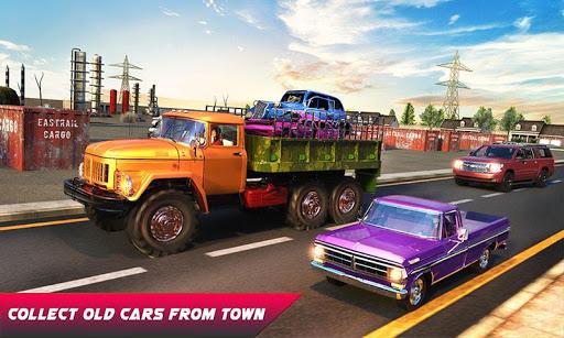 Car Crusher Crane Driver Dumper Truck Driving Game screenshot 4