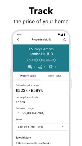 Zoopla property search UK Homes to buy and rent screenshot 6