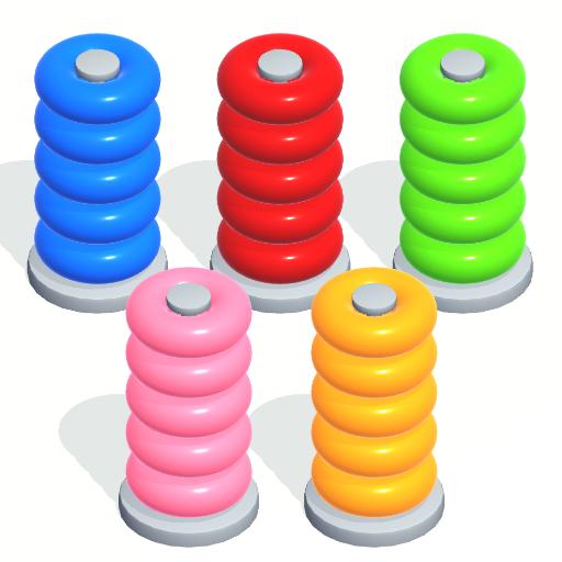 ikon Color Sort Puzzle: Color Hoop Stack Puzzle