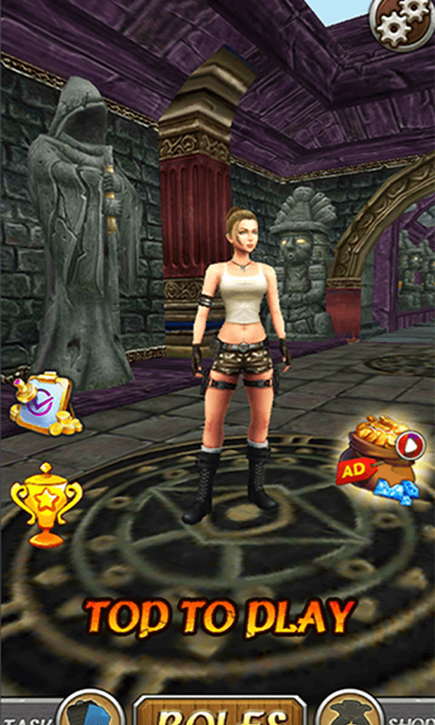 Temple Princess Run 3D screenshot 2