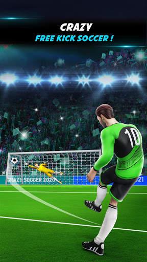 Crazy Shoot Soccer Kicks: Mini Flick Football Game screenshot 3
