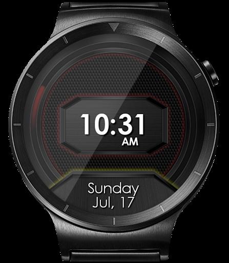 Daring Carbon HD WatchFace Widget Live Wallpaper 10 تصوير الشاشة