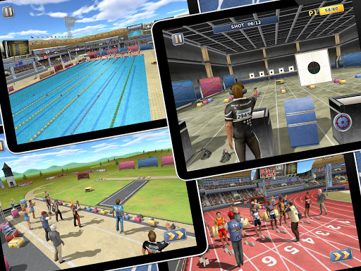 Athletics2: Summer Sports Free screenshot 11