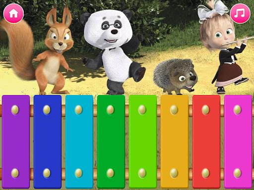 Masha and the Bear. Educational Games screenshot 6