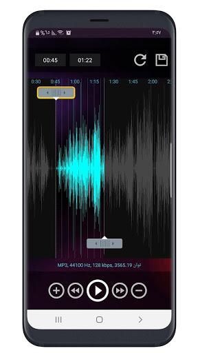 برنامج تقطيع الأغاني mp3 كتر 3 تصوير الشاشة
