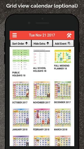 Singapore Calendar Horse 2020 screenshot 3