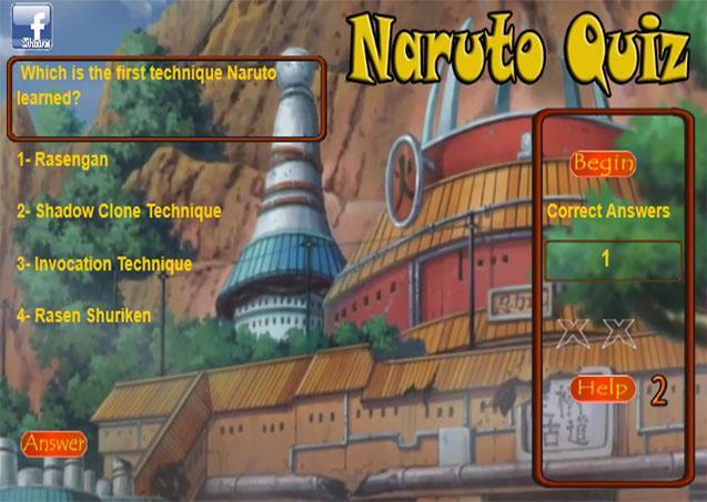 Quiz for Naruto screenshot 2