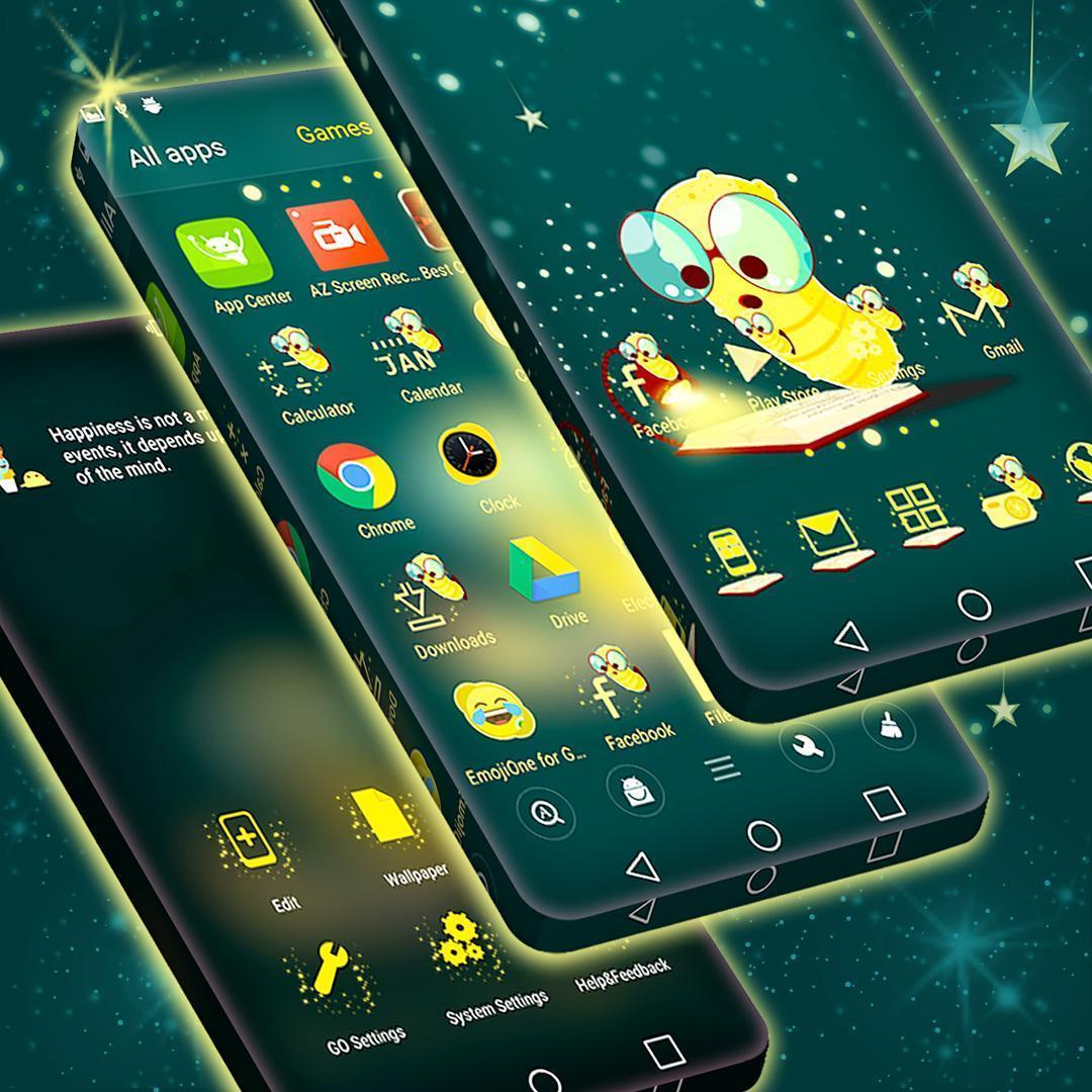 Cute Theme For Launcher 4 تصوير الشاشة
