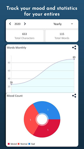 My Diary - Daily Notes, Journal & Mood Tracker screenshot 8