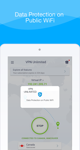KeepSolid VPN Unlimited WiFi Proxy with DNS Shield screenshot 14