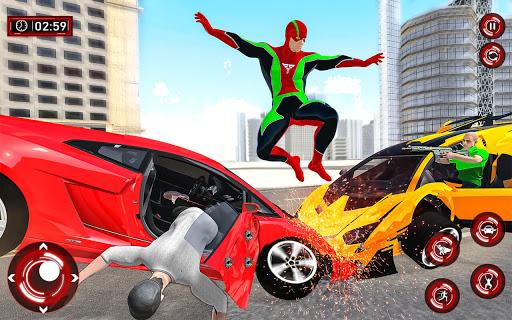 Superhero Light Robot Rescue: Speed Hero Games screenshot 5