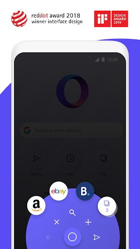 Opera Touch: the fast, new web browser screenshot 2