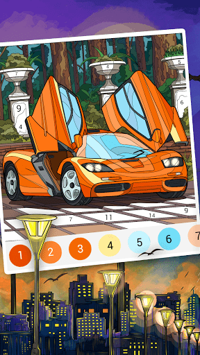 Happy Color™ – Color by Number. Coloring games. screenshot 5
