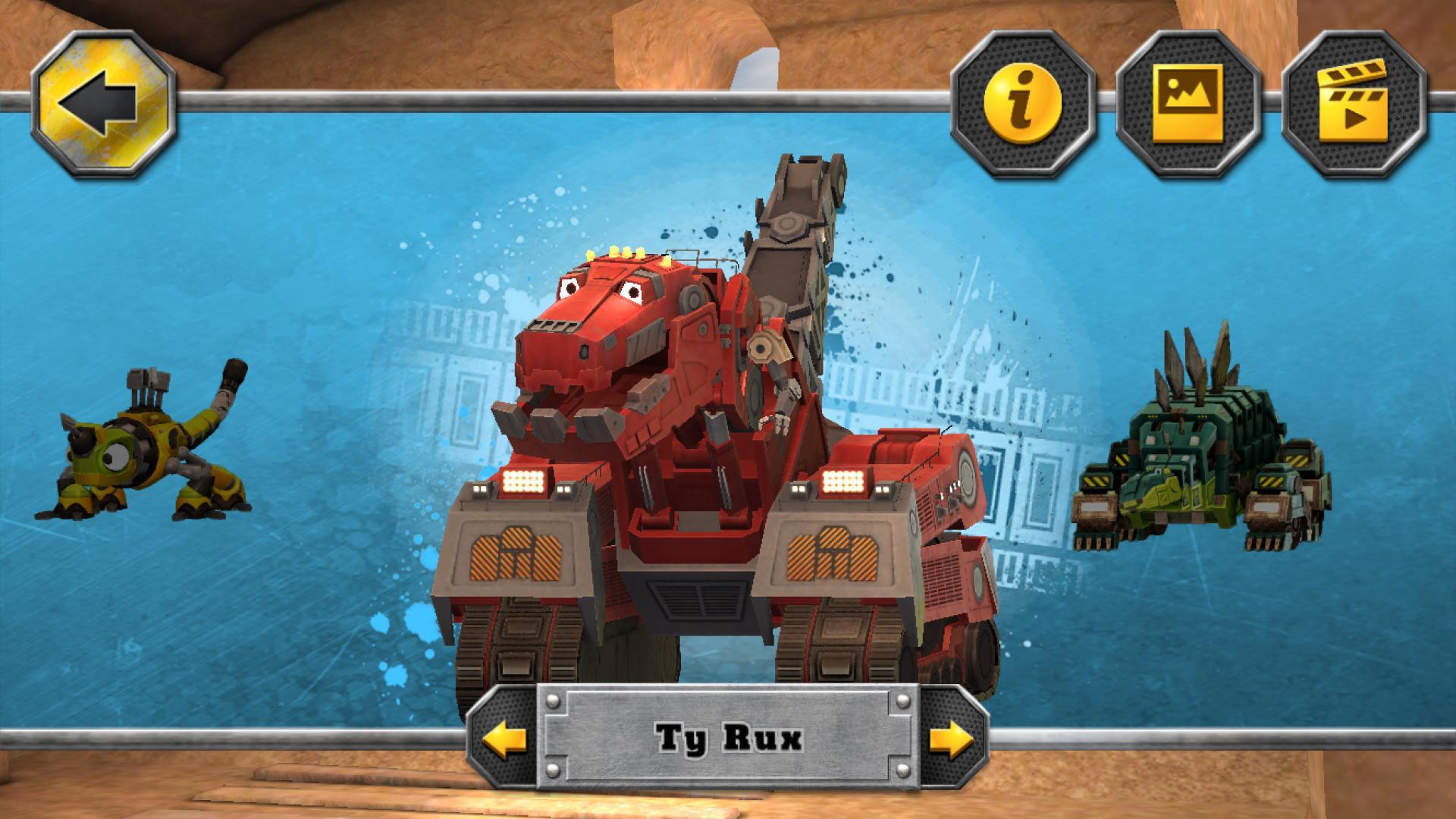 DreamWorks Dinotrux 2 تصوير الشاشة