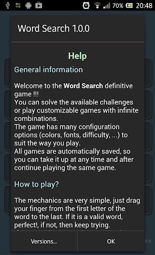 Word Search स्क्रीनशॉट 22