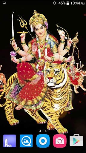 4D Maa Durga Live Wallpaper 6 تصوير الشاشة