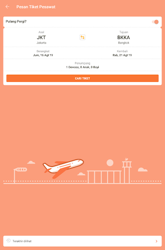 Pegipegi - Beli Tiket Pesawat, Hotel, Kereta & Bus screenshot 13
