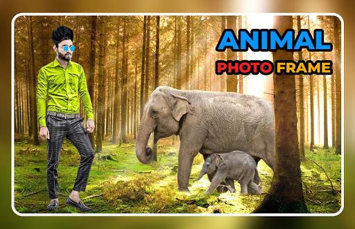 Animal Photo Frame - Animal Photo Editor screenshot 2