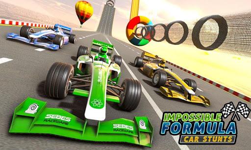Formula Car GT Racing Stunts- Impossible Tracks 3D screenshot 1