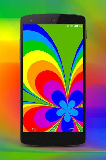 جميل خلفية لون screenshot 5