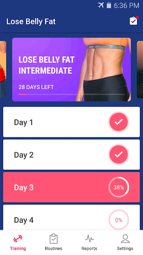 Lose Belly Fat at Home - Lose Weight Flat Stomach screenshot 8