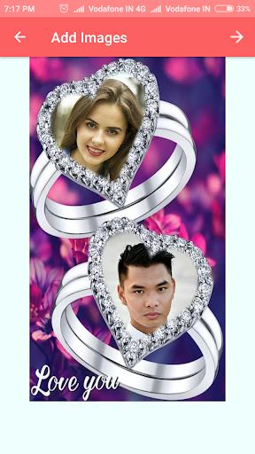 Lovely Ring Photo Frames 2 تصوير الشاشة