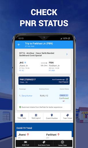 IRCTC Ticket, Train Status, Railway App: RailYatri screenshot 5