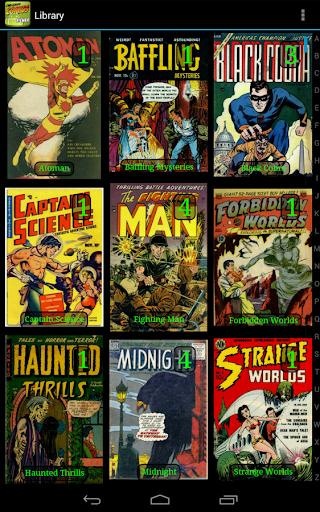 Challenger Comics Viewer 2 تصوير الشاشة