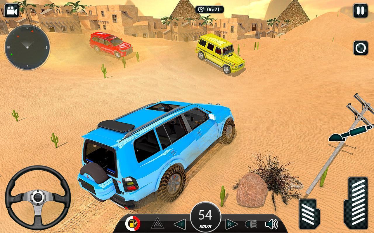Luxury LX Prado Desert Driving screenshot 5