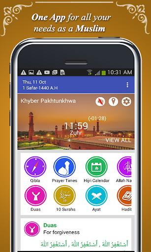 Qibla Direction Finder & Prayer Time Alarm screenshot 2