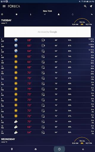 Foreca Weather screenshot 8
