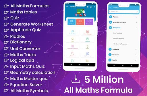 All Maths Formulas screenshot 1