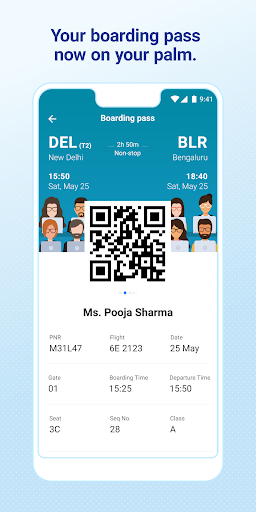 IndiGo-Flight Ticket Booking App screenshot 5