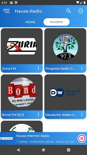 Hausa Radio Free 3 تصوير الشاشة
