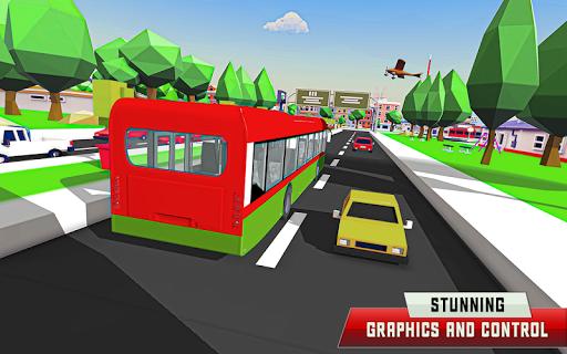 City Driving Coach Passenger Bus Simulator 3D screenshot 3
