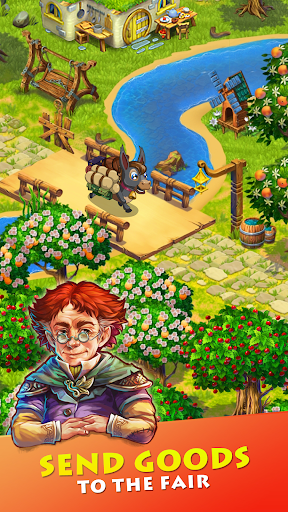 Farmdale: farming games & township with villagers screenshot 2
