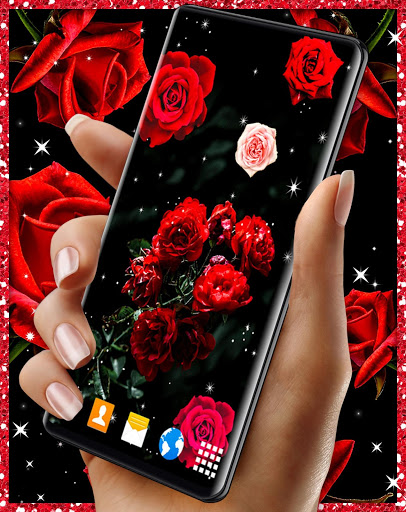 Red Rose Live Wallpaper 🌹 Flowers 4K Wallpapers скриншот 8