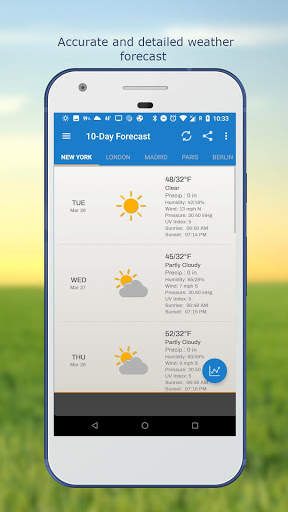 Weather & Clock Widget for Android screenshot 5